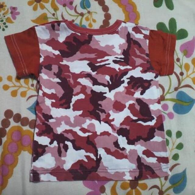 キッズTINKERBELL/ティンカーベル迷彩柄 Tシャツ 80�p < ブランドの