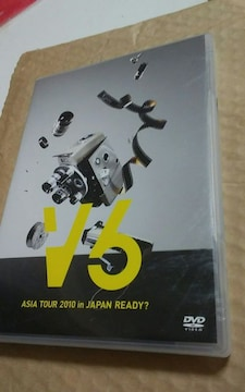 V6/ASIA TOUR 2010 in JAPAN READY?
