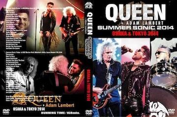 Queen,Adam Lambert クィーン2014 サマソニ 大阪&東京 2DVD