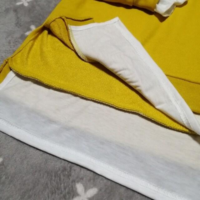 F/新品☆レイヤード風トレーナー,スウェット114 < 女性ファッションの
