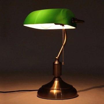 バンカーズランプ 照明 バンカーズ グリーン インテリア