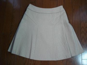 anysis エニィシィス シンプルデザインウールスカート