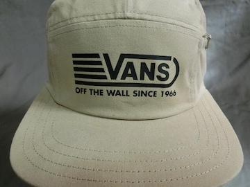 バンズ【OFF THE WALL】5パネル ファスナーポケット付CAP