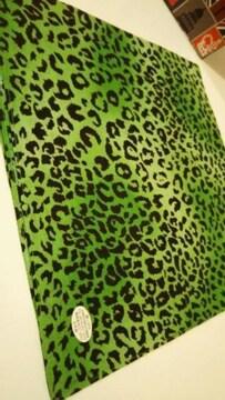 ◆新品◆バンダナ◆ヒョウ柄◆Black/Green◆