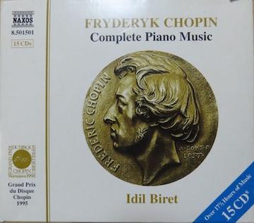 KF ショパン ピアノ曲全集 CD15 輸入盤 イディル・ビレット
