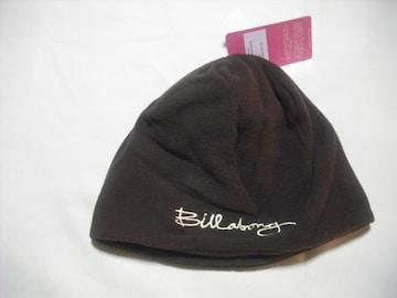 wb54 女 BILLABONG ビラボン フリース帽 ブラウン