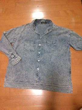 ☆ケミカル☆デニム☆シャツ☆