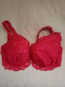 未使用タグなし☆H70ブラ☆ショッキングピンク色