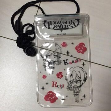 DIABOLIK LOVERS☆携帯防水ケース☆Kanato&Reiji☆アニメグッズ