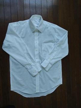 長袖 白無地 Yシャツ 39-82