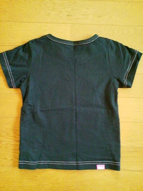 新品同様ミニK黒のスイートボール半袖Tシャツ110 < ブランドの