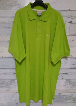 セールPepeJeansペペジーンズビッグポロシャツ2XLグリーン