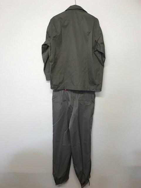 ブラウン 茶色 作業着 服 上下セットアップ ズボン パンツ < 男性ファッションの