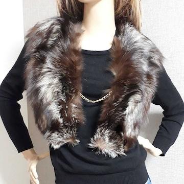 SAGA FOX サガフォックス 日本製 リアルファー ファーベスト