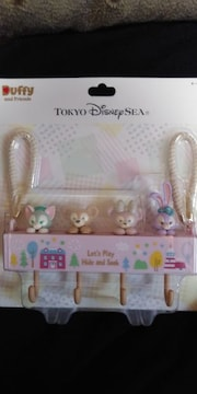 2019.4.3発売★TDSダッフィーたちのかくれんぼ★キーフック