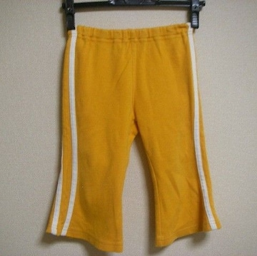 ベビードール ズボン 濃い黄色!? 90cm