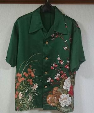 高級★着物★アロハシャツ★正絹