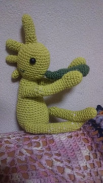 手編みのあみぐるみ、ココペリ