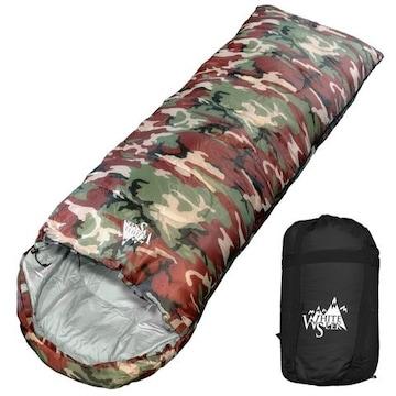 迷彩 寝袋 封筒型