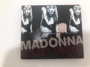 D122 CD MADONNA STICKY & SWEET TOUR DVD付