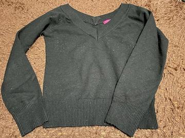 オゾック 女性用 長袖ニット 毛玉あり