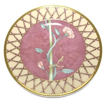 未使用正規ブルガリプレート食器お皿ピンクローゼンタ