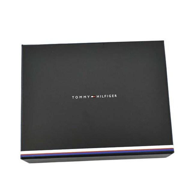 ◆新品本物◆トミーヒルフィガー 2つ折財布(BK)『AM0AM07294』◆ < ブランドの