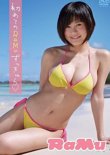 RaMu  RaMuずっきゅん DVD 即送無 2300  < タレントグッズの