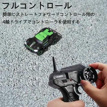 リモコンカー四輪駆動ミニRCカー ブラック