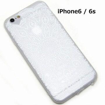 エレガント レース iPhoneケース ホワイト 1/BIY