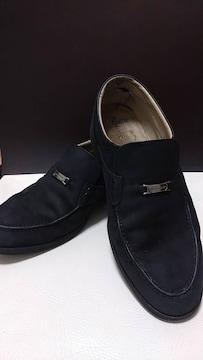 即決 送料込み ピエール・カルダン 靴 スウェード調 メンズ