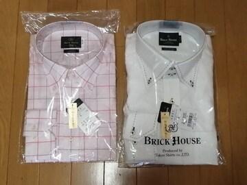 新品/ドレスシャツ/LL /2枚セット