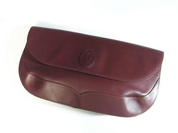 ☆良品☆カルティエ マストライン カーフ製クラッチバッグ