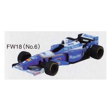 アオシマ 1/64 F1GP ウィリアムズミニカー Williams RENAULT FW18 1996 #6