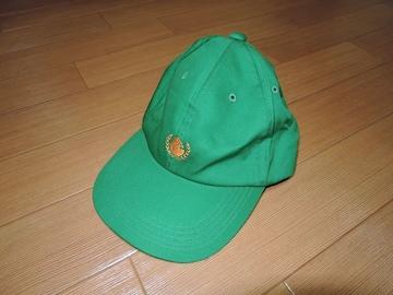 エクストララージXLARGEキャップ緑サル猿ロゴ月桂樹