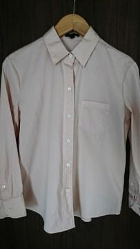未使用★theory★セオリー★ストレッチ★シャツ★ブラウス★ピンク★1