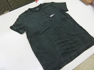 M 黒)プーマ★Tシャツ 583028 FUSION 半袖丸首 パイル タオル地