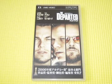 PSP★ディパーテッド UMD VIDEO レオナルド・ディカプリオ