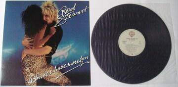 ロッド・スチュワート『スーパースターはブロンドがお好き』LP