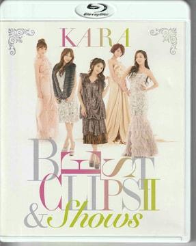 KARA BEST CLIPS II&SHOWS(中古品・初回限定盤)