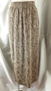 ★春夏用★薔薇デザイン★ロングスカート★F★素敵(^O^)