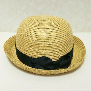 美品 LEPSIM レプシィム 麦わら帽子