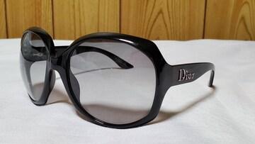 正規 浜崎あゆみ着 ディオール Dior グロッシー ロゴ サングラス 黒 ビッグレンズ