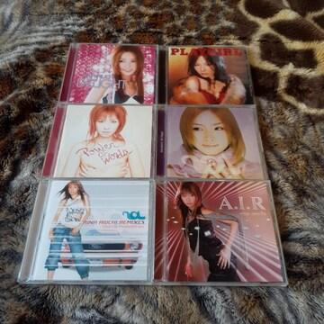 愛内里菜/ CD アルバム 6種類セット