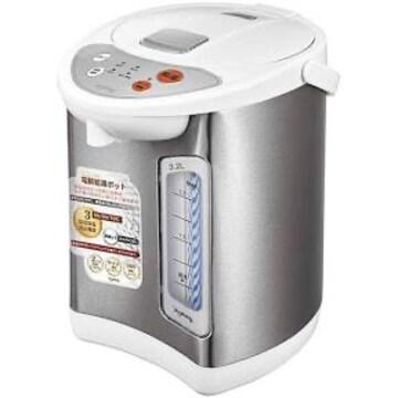 3.2L 温度3段階 電動給湯ポット GD-UP320