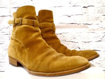 ◆SAINT LAURENT サンローラン スエード ジョッパーズ ブーツ