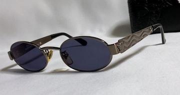 正規美 ヴェルサーチVERSACE メデューサロゴ ブロンズメタル眼鏡 サングラス 付属有