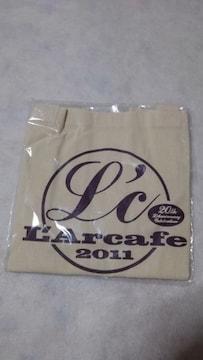 ◆L'Arc〜en〜Ciel◆20周年◆ラルカフェ2011◆トートバッグ♪レア