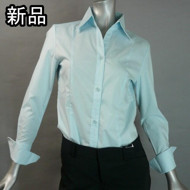 【新品・9号】スーツのインナーにも!カフス仕立て・送料180円  < 女性ファッションの