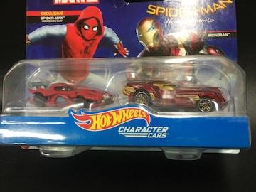ホットウィール マーベル スパイダーマン 2カーパック DXM16